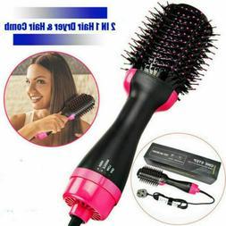 Hair Dryer Brush Dry Straighten & Curl One Step Hair Dryers