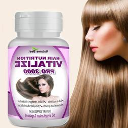 HAIR GROWTH ANTI LOSS TREATMENT PILLS NUTRITION GROW NAILS 6