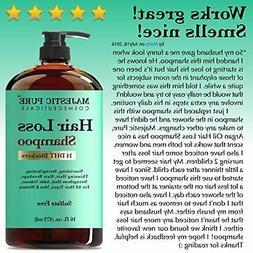 hair loss and hair regrowth shampoo treatment