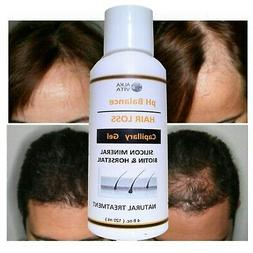 HAIR LOSS Treatment SILICON & HORSETAIL pH Balance Alkaline