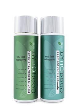 Thickening Shampoo and Conditioner with Biotin for Hair Grow