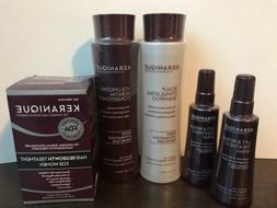 Keranique Hair Regrowth Treatment System Deep Hydration, 4 M