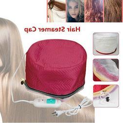 Hair Steamer Cap Dryers Electric Heating Cap Thermal Treatme