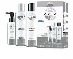 NIOXIN HAIR SYSTEM KIT 1 CLEANSER,SCALP THERAPY,TREATMENT