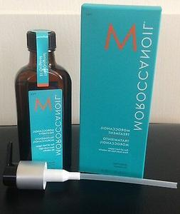 Moroccanoil Hair Treatment 3.4 FL OZ/100 ml Bottle with Blue