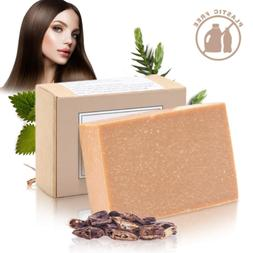 Handmade Hair Shampoo Bar - Organic Solid Soap Hair Treatmen
