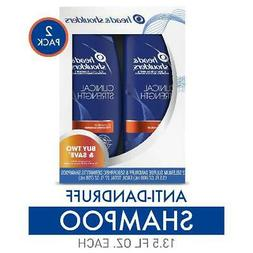 Head and Shoulders Shampoo Clinical Strength Dandruff and Se