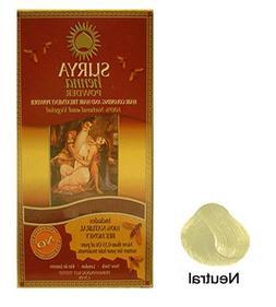 Henna Neutral Powder Surya Nature, Inc 1.76 oz Powder