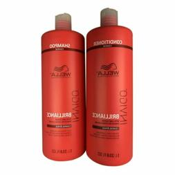 Wella Invigo Brilliance Shampoo and Conditioner 33.8 oz