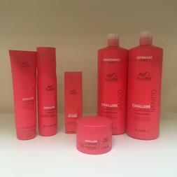 Wella INVIGO BRILLIANCE Shampoo, Conditioner, Mask, Booster