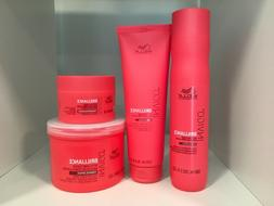 Wella Invigo Brilliance With Lime Caviar For Coarse Hair Car