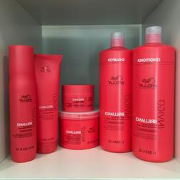 Wella Invigo Brilliance with Lime Caviar Normal Hair Care Pr