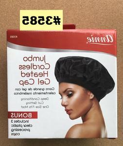 ANNIE JUMBO CORDLESS HEATED GEL CAP #3585 GREAT FOR HAIR TRE