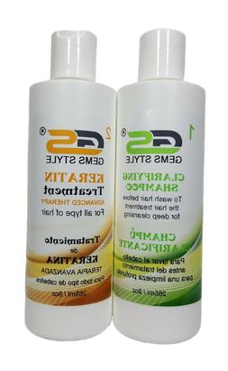 GEMS STYLE KERATIN TREATMENT - FORMALDEHYDE FREE - Cream - F