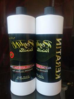 Keratina Hair Treatment Vainilla 1 bottle of 32oz  15 minute
