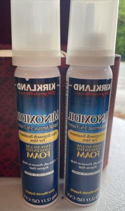 Kirkland 5% Minoxidil Foam Aerosol Hair Regrowth Treatment M