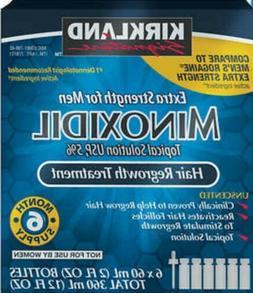Kirkland Minoxidil 5% Extra Strength 6 month Supply Mens Hai
