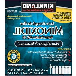 Kirkland Minoxidil 5% Extra Strength 6 month Supply Mens Hai