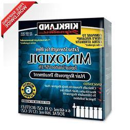 Kirkland Minoxidil 5 % Extra Strength Hair Loss Regrowth Tre