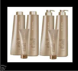 KPAK Joico Shampoo & Conditioner LITERS + K-PAK DEEP RECONST