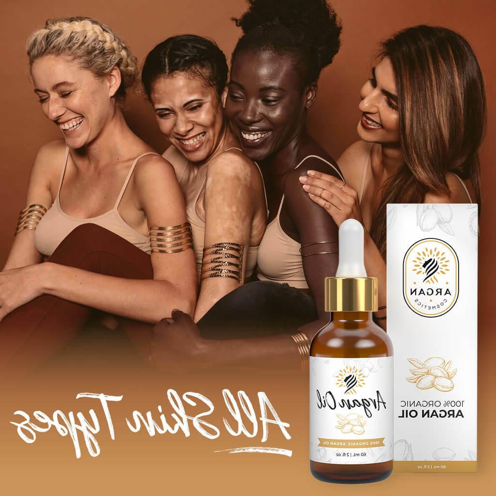 100% Oil of Morocco Natural Skin Nails