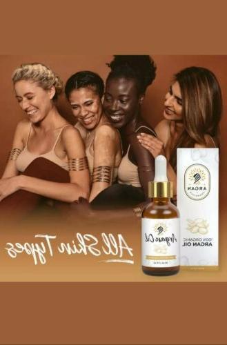 100 percent pure organic moroccan argan oil