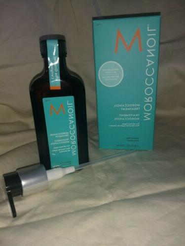 125ml MOROCCANOIL HAIR TREATMENT 125ml / 4.23oz  WITH PUMP!