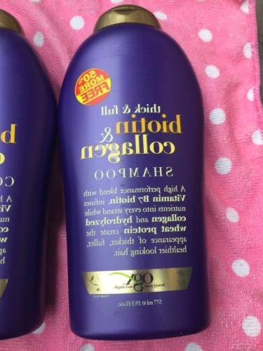 2 & Full Biotin Collagen Shampoo