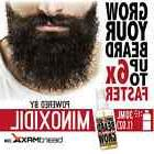 6 x FASTER BEARD GROWTH LARGE SPRAY BOTTLE WITH MINOXIDIL -