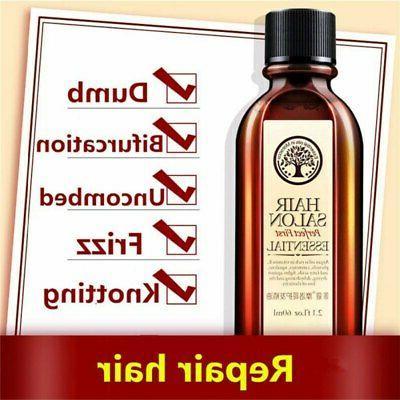 60ml Argan Hair Scalp Treatment Smooth Damaged Dry Hair Repair