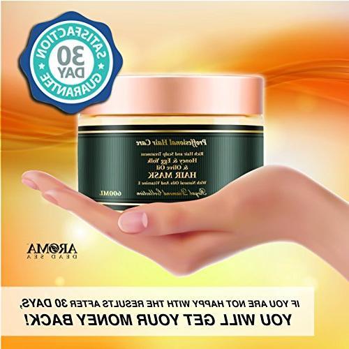 Aroma Premium Hair - Egg Yolk Hair for Women – Natural Scalp & Root Treatment Ends – Natural & – &