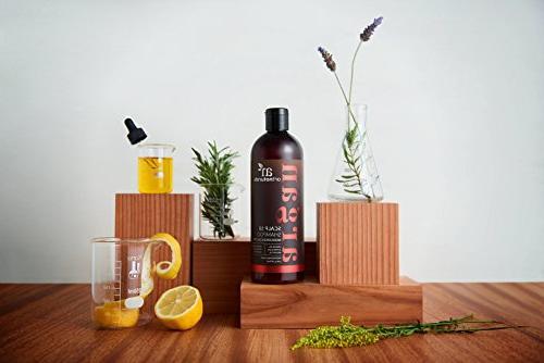 ArtNaturals Dandruff Shampoo, Coal Tar Oil, Scalp18 Therapeutic Anti-Itchy Symptoms of Psoriasis, and Sulfate 16