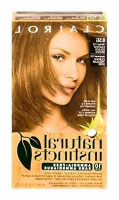 Clairol Natural Instincts, 011G, Amber Shimmer, Lightest Gol