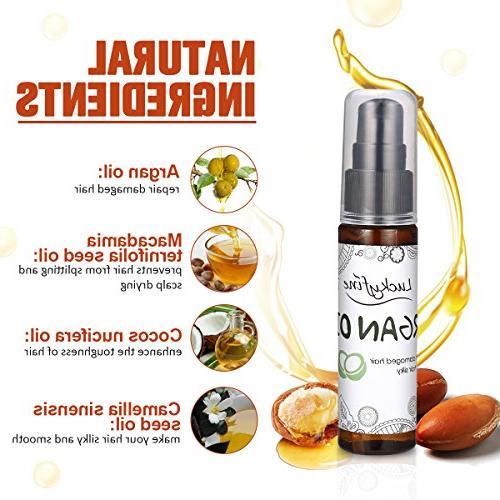 Hair Treatment LuckyFine Oil Treatment Damaged Hair, Deep Hair Mask for Nourishing Hair Oil