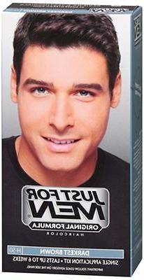 Just For Men Shampoo In #H-50 Haircolor Darkest Brown