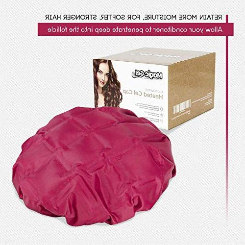 Deep Conditioning. A cap to and condition. Hair Steamer for or