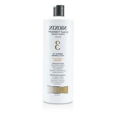 Nioxin System 3 Scalp Therapy Conditioner for Fine Hair, 33.