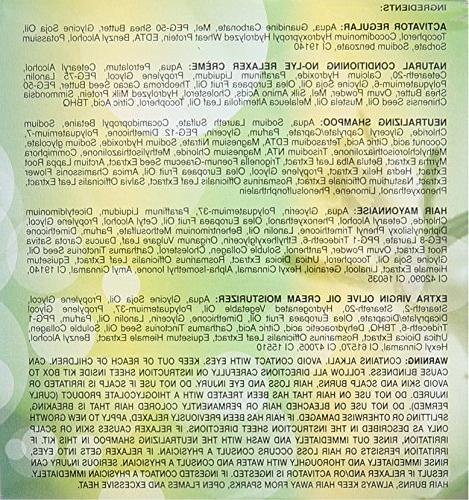 Organics, Organic Conditioning Relaxer Kit,