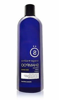 Shampoo for Mens Hair - Contains Invigorating Tea Tree Oil -
