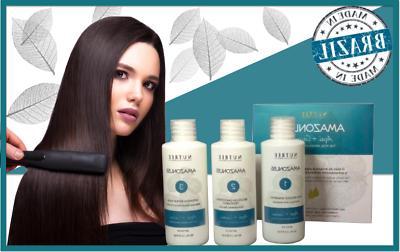 Amazonliss Brazilian Keratin Hair Treatment Kit 1.7 oz by Nu