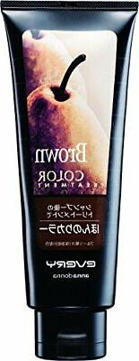 EVERY anna donna Ion Color Hair Treatment 160g Brown Made in