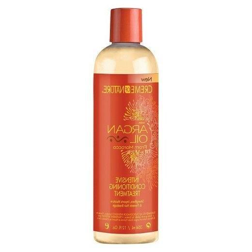 Creme Of Nature Argan Oil Conditioner Intense Treatment 12 O