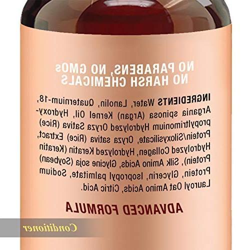 Argan Oil Conditioner, Improve formula Gentle Formula for Daily Men Women, 16 fl Each