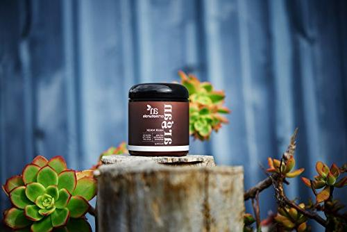 ArtNaturals Argan Hair Mask - Conditioner - Organic Jojoba Oil, & - Dry, Treated Shampoo -