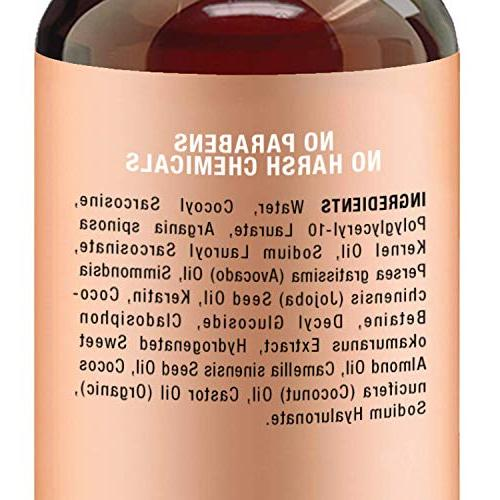 Argan Majestic Pure Enriched Gentle Formula for Sulfate Moroccan & for and 16