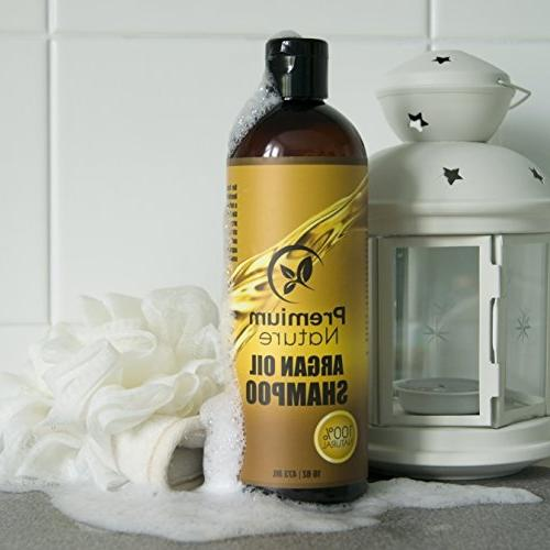 Argan Oil Sulfate Free Natural Clarifying & Volumizing, Gentle Curly & Color Hair, Hair Growth & Hair For 16