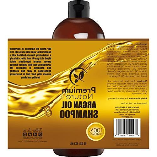 Argan Shampoo Free - Natural Curly & Color Treated Hair, Hair Growth Treatment Anti & Hair For Men 16 oz