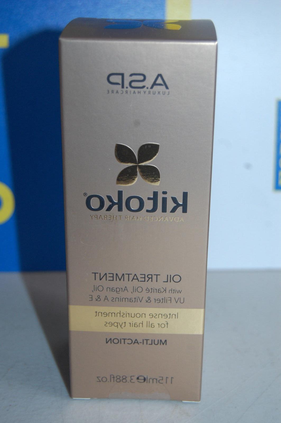 ASP KITOKO HAIR OIL TREATMENT full size 3.88 OZ 115ML --> FR