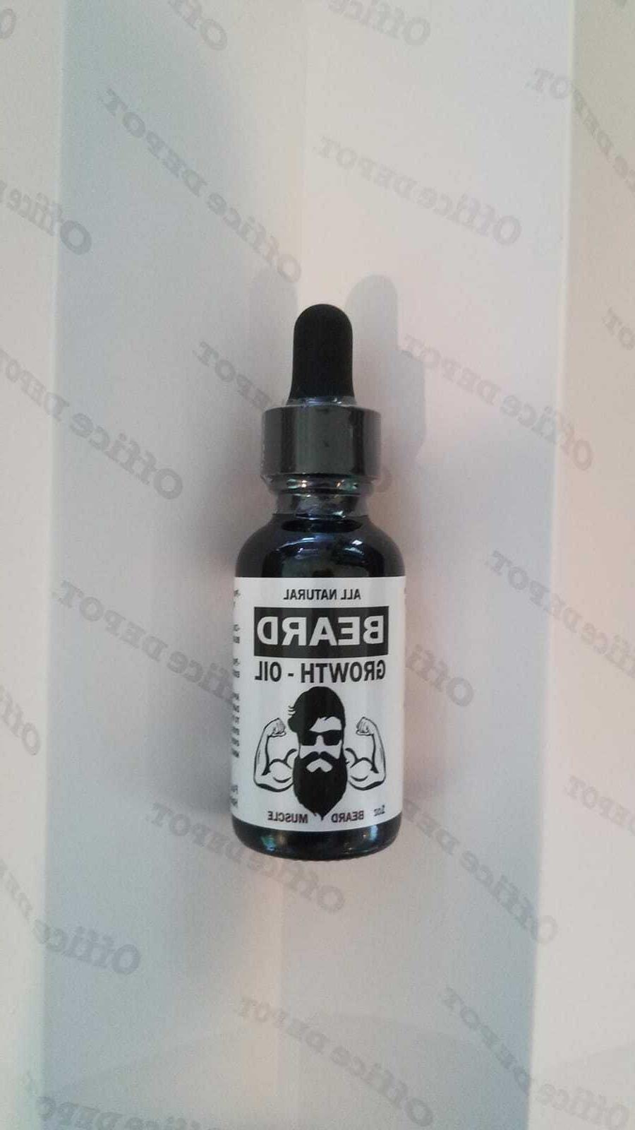 Beard Growth Oil Hair Serum Mustache Men