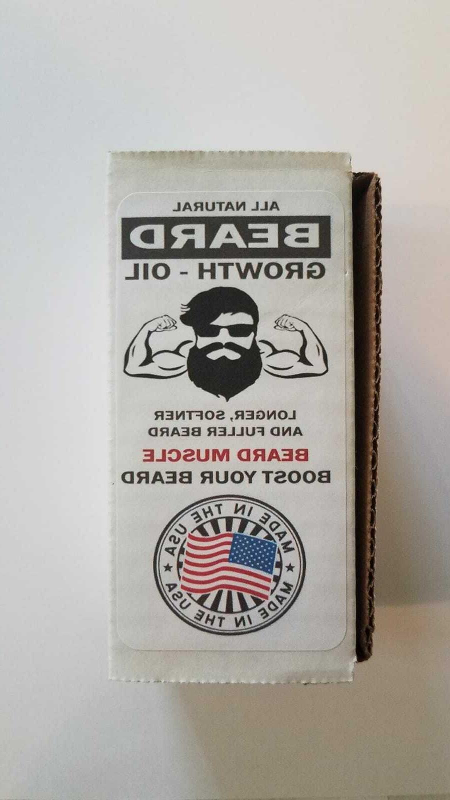 Beard Growth Hair Care Product Mustache Treatment Men